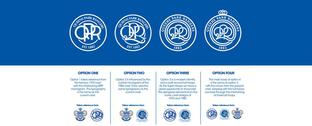 QPR Badge options