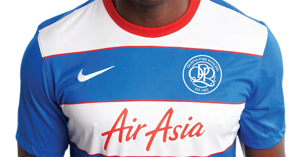 QPR Shirt Mock-up